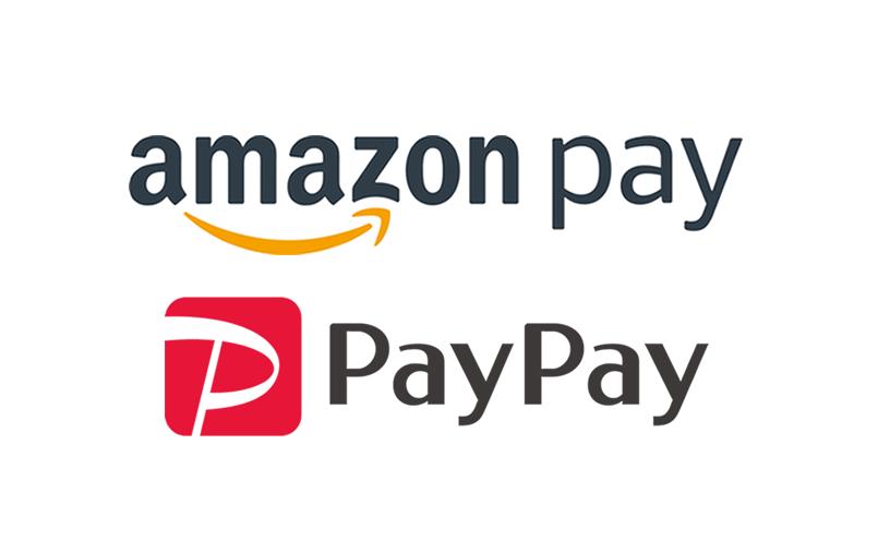 AmazonPay PayPay使えます!