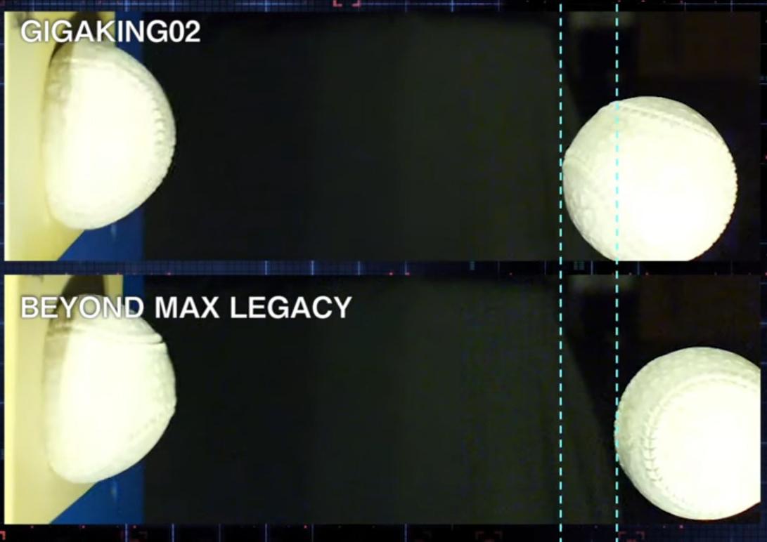 ビヨンドマックスのウレタンの反発性能の比較