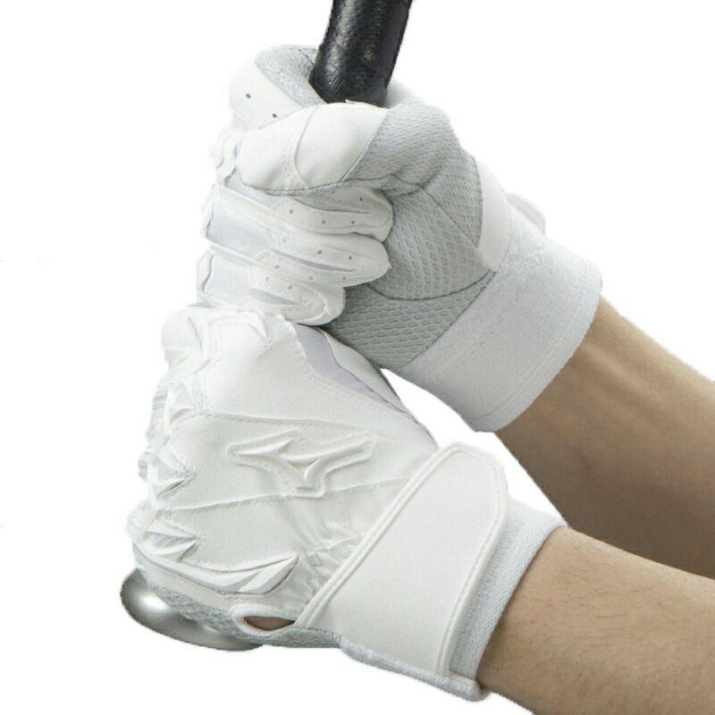 ミズノプロ バッティング用手袋  シリコンパワーアークLI 高校野球対応モデル