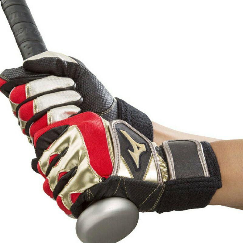 ミズノ バッティング用手袋 グローバルエリート RG